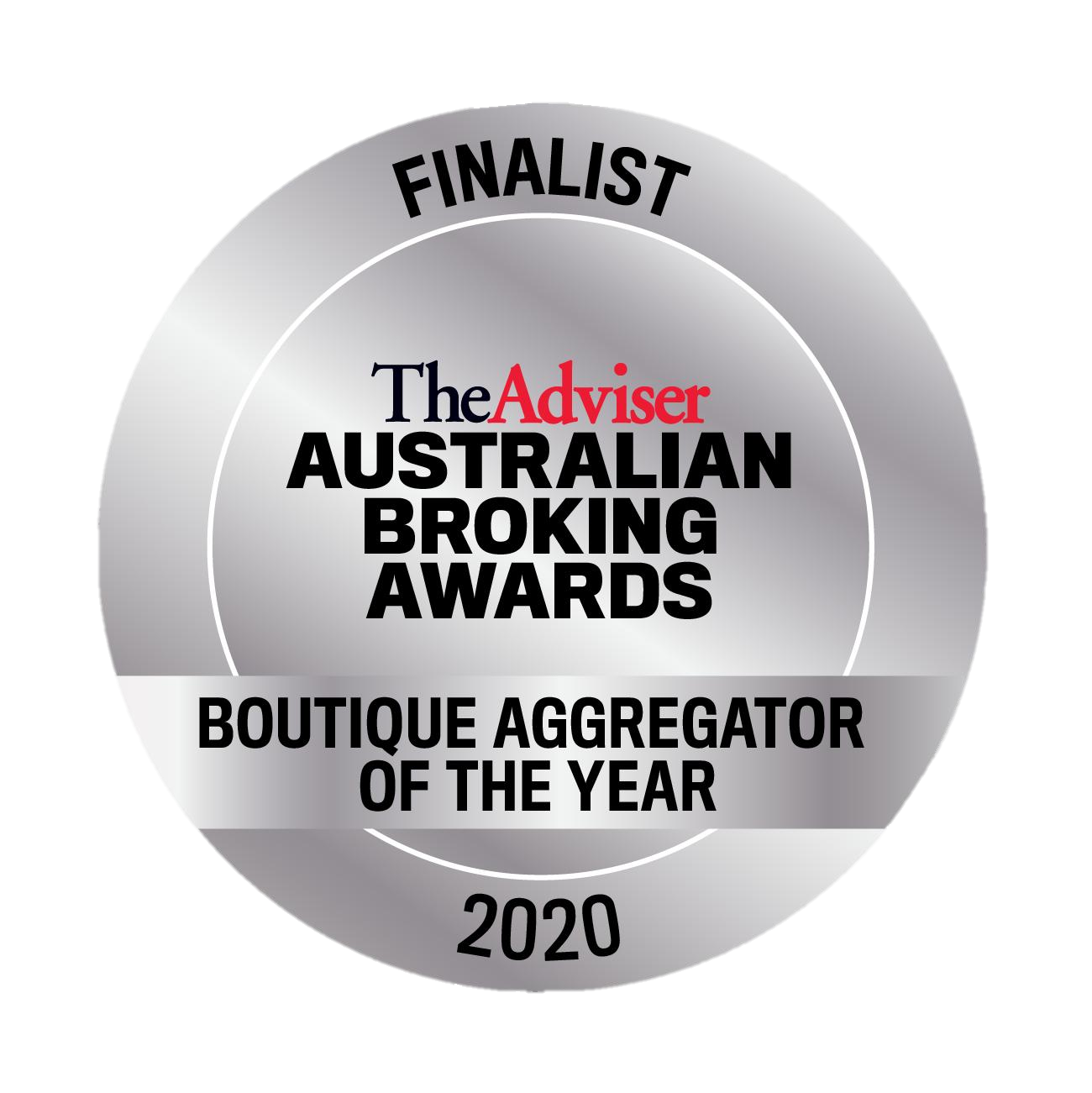 AMA Finalist - Boutique Aggregator of the Year 2020